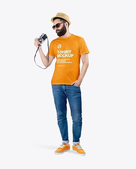 Download Mockup Tshirt Psd Freepik Yellowimages