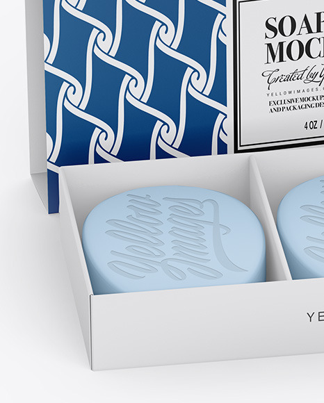Download Soap Box Packaging Mockup Yellowimages