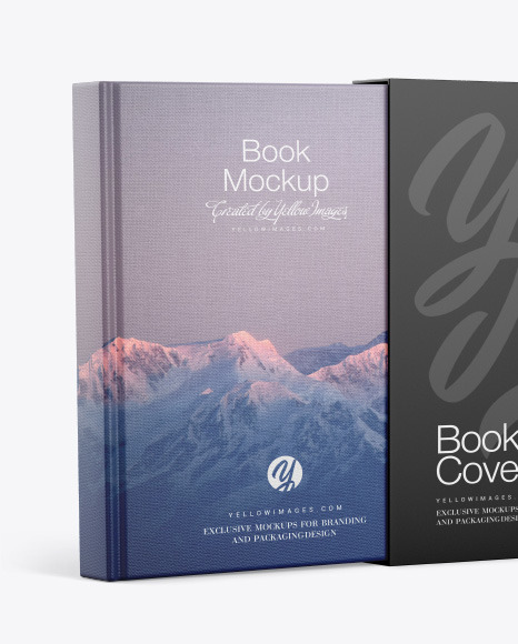 Download Hardcover Book Mockup Yellowimages