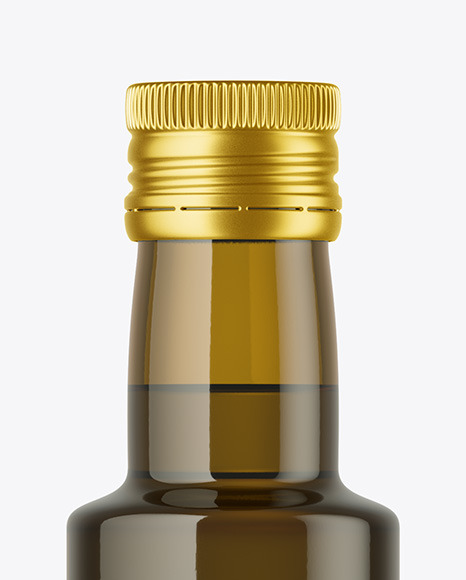 Download 075l Green Glass Olive Oil Bottle Mockup Yellowimages