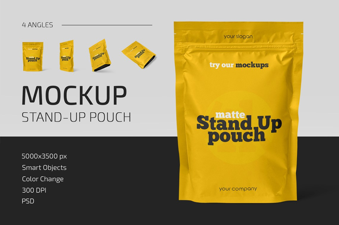 Download Mockup Chips Bag Gratis Yellowimages