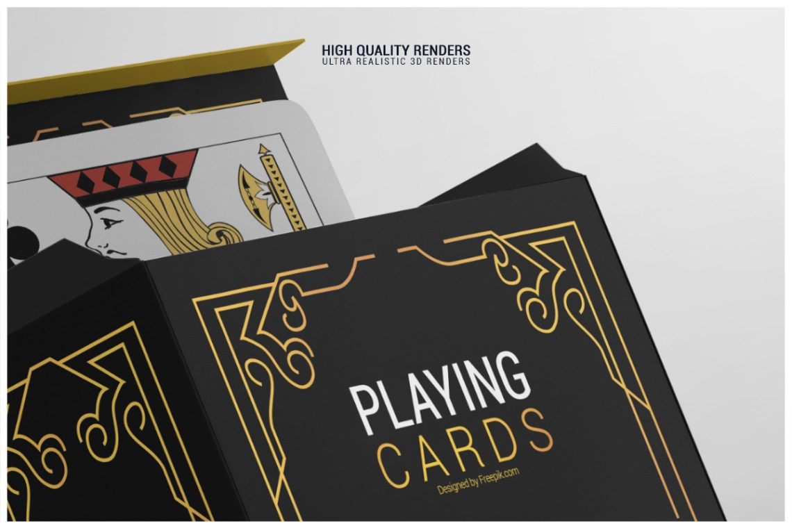 Download Mockup Card Game Yellow Images