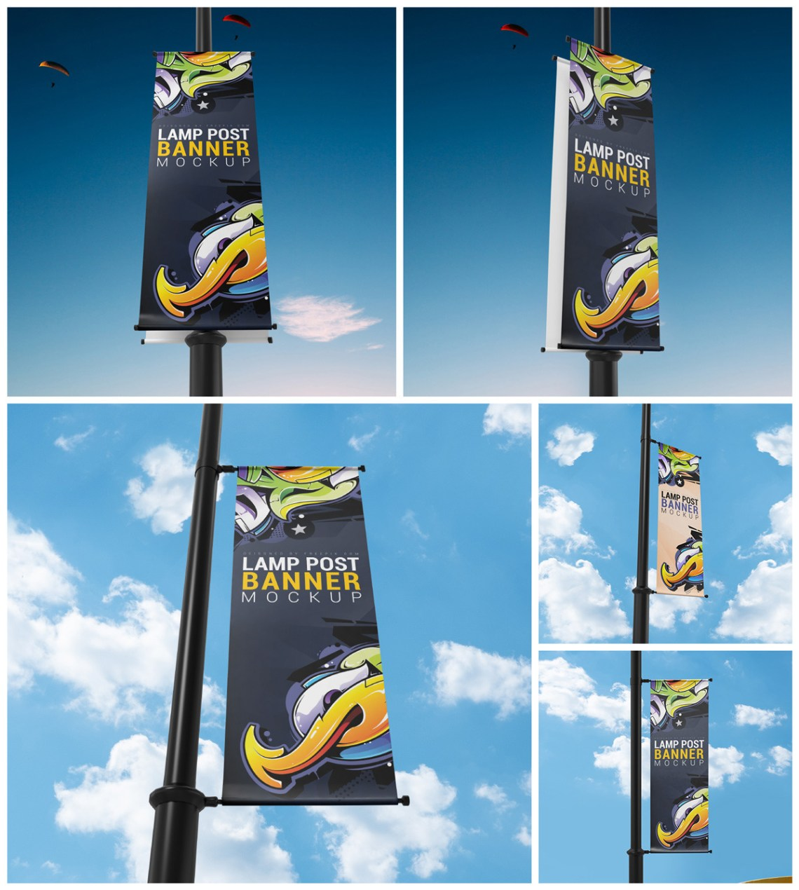 Download Realistic Flag Mockup Yellowimages