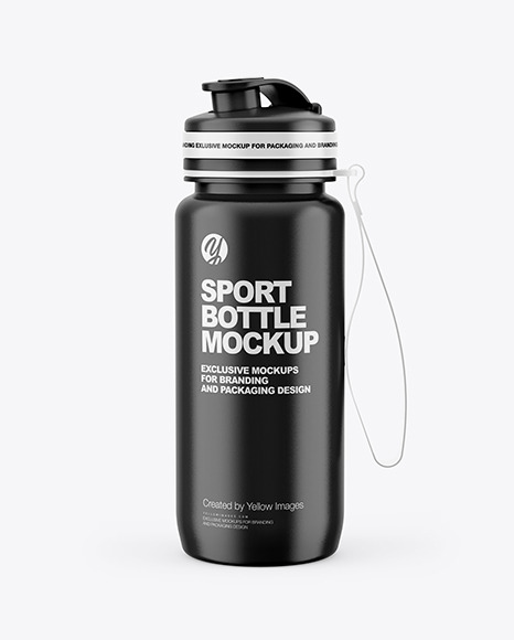 Download Bottle Sport Mockup Yellowimages