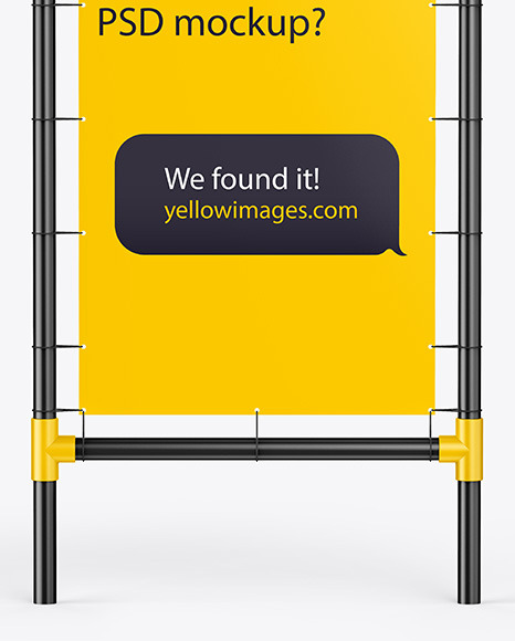 Download Product Display Stand Mockup Yellow Images