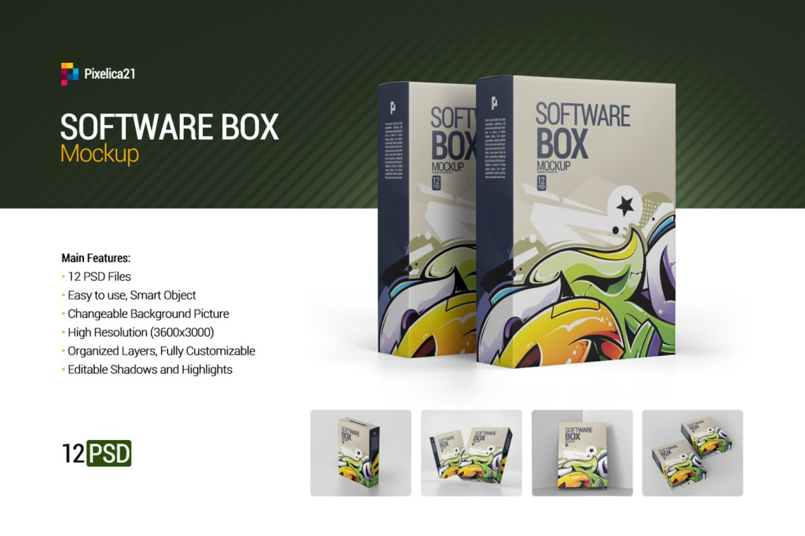 Download Packaging Mockup Box Psd Yellowimages