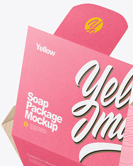 Download Soap Packaging Mockup Yellow Images