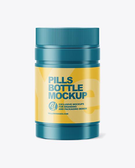 Download Medicine Bottle Mockup Psd Yellow Images