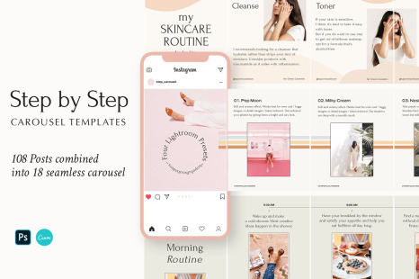 Download Mockup Feed Insta Yellow Images