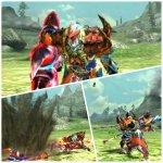 MHX見た目装備・男 武器のギミックも活かした赤と青の組み合わせが見事!『紅の青騎士』【ムラカミアキラ様投稿】