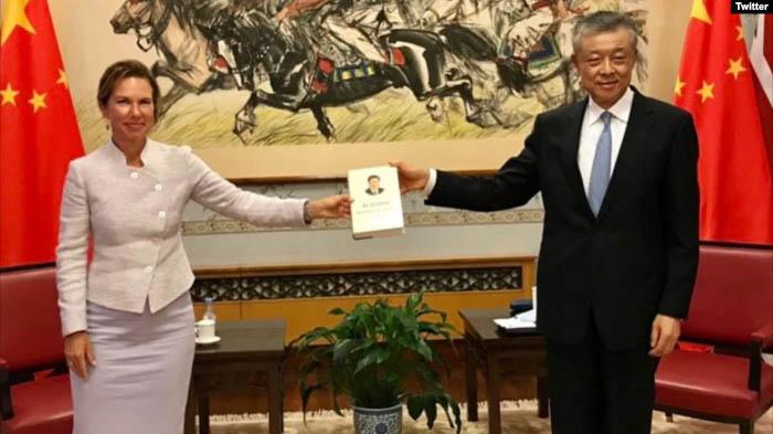 【美国之音】英驻华大使因发表文章被中国外交部召见