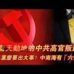 """张杰:习近平的""""六怕""""和三次中共高官叛逃事件"""