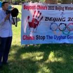 """杨建利在""""抵制2022北京冬奥会全球行动日""""华盛顿集会上的演讲"""