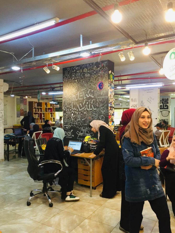 Gaza coworking space