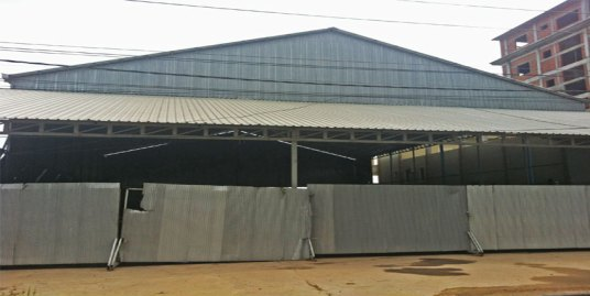 Near Choray Phnom Penh| Warehouse For Rent