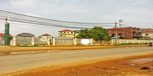 Near Prek Phnov Bridge| Land For Sale