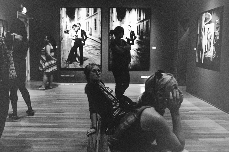 Helmut Newton Retrospective and Amsterdam