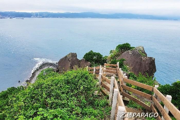 2021基隆嶼登島|走訪基隆嶼,感受火山島嶼的魅力,站上制高點基隆島黑白燈塔,欣賞360度零死角基隆嶼美景