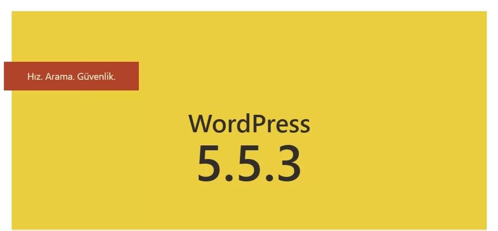 WordPress 5.3.3