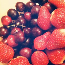 red fruits, my favorite