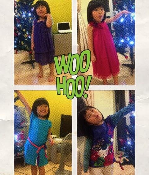 Yining's Xmas / Birthday / CNY Wardrobe