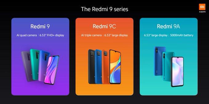 Xiaomi officially launches Redmi 9, Redmi 9A and Redmi 9C in Nigeria