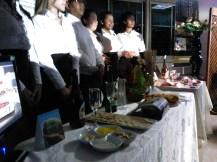 Feria gastronómica del curso de Hostelería