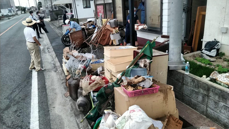 福岡県大牟田市ボランティア募集人手が足りません災害ゴミの搬出作業大雨災害洪水被害