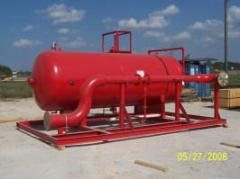3200 usg Foam Bladder Tank