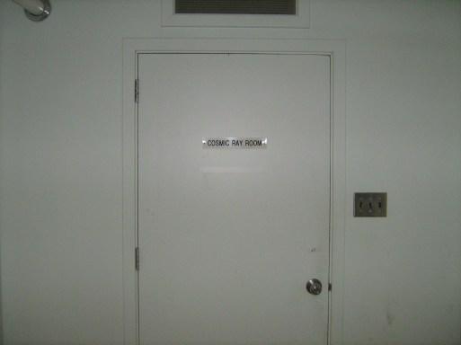 Unlocked door ..........