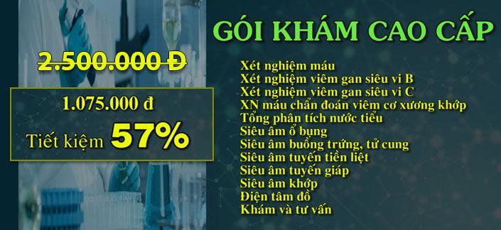 khuyen mai goi kham nang cao _ gan Tam Duc Quà tặng đặc biệt 8/3: Khám sức khỏe tổng quát chỉ từ 540,000Đ khuyen mai goi kham nang cao gan Tam Duc