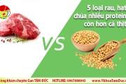 Bạn có biết: 5 loại rau, hạt chứa nhiều protein hơn cả thịt