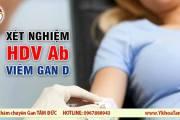 Xét nghiệm HDV Ab trong chẩn đoán viêm gan D