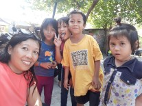 Befriending slum street kids