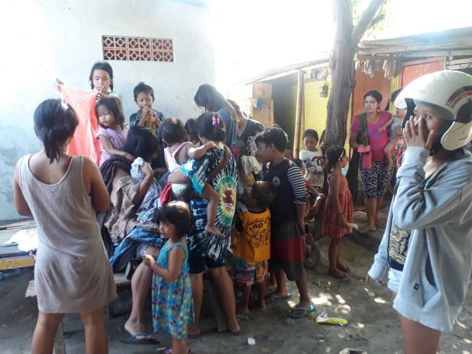 YKPA slum clothing donation