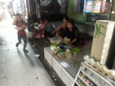 Food for street kids and moms