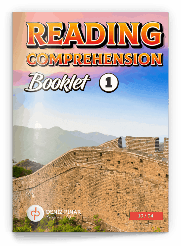 10.04 READING COMPREHENSION BOOKLETS 10