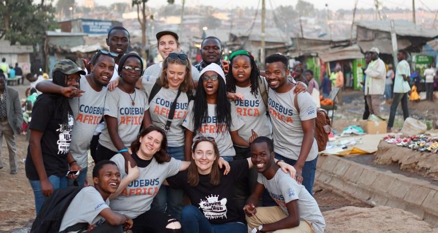 Kenian-tiimi Kiberassa