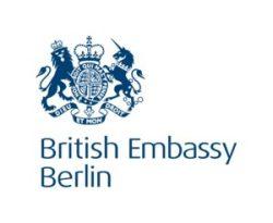 Logo der British Embassy Berlin