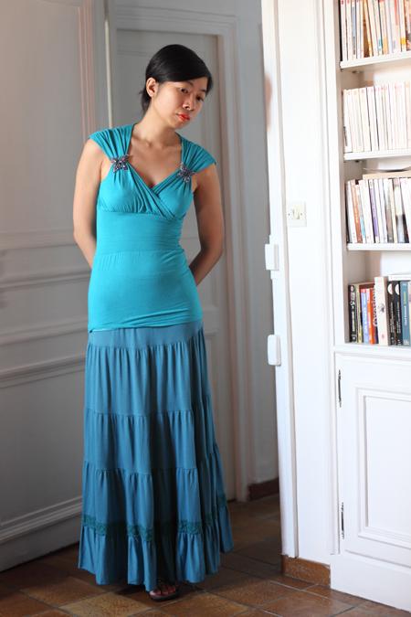 ~ Bleu turquoise et papillons ~