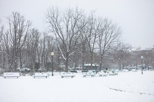 ~ Manteau kimono (le retour) sous la neige ~