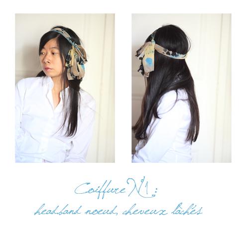 ~ 7 façons de porter un foulard ~