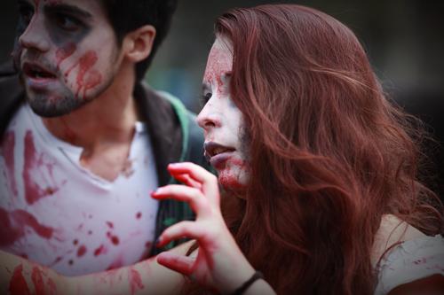 ~ Zombie walk à Paris, un avant goût d'Halloween… ~