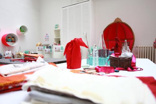 ~ Atelier Furoshiki avec Mondial Tissus chez Marie-Antoinette ! ~