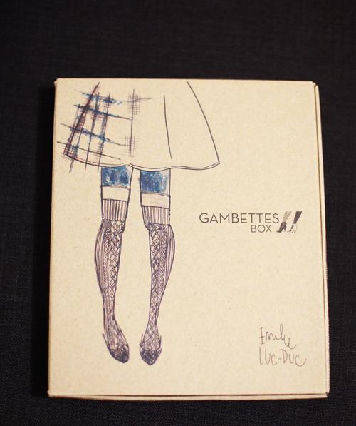 ~ Gambettes box de mars 2014 x Emilie Luc-Duc ~