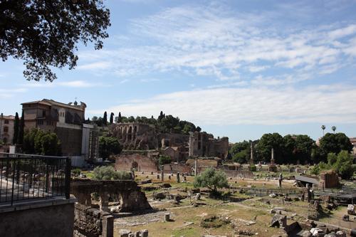 ~ Rome touristique : Colisée, forum, etc ~