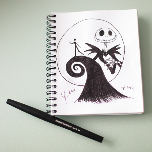 ~ Draw On Monday 12 « Tim Burton » ~