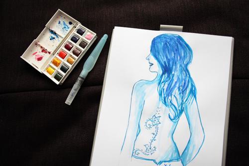 ~ Draw On Monday «Tatouages» ~