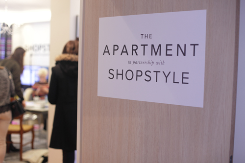 ~ Paris Fashion Week à « The Apartment » avec Shopstyle et Paulette ~