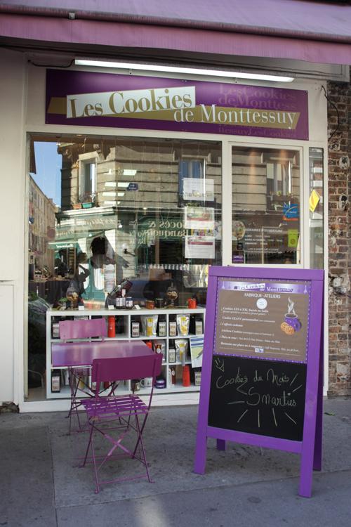 ~ Les délicieux cookies de Monttessuy ~
